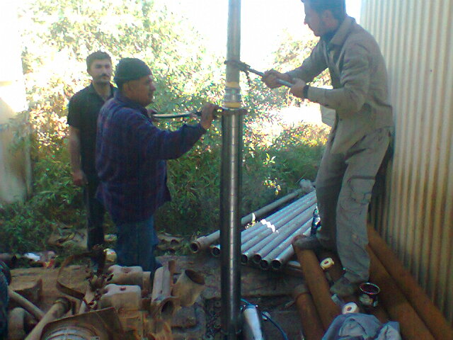 Providing water pump in Dashqotan village and maintenance of a water